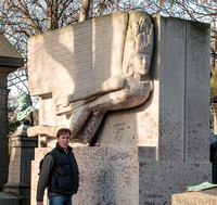 Pere Lachaise -The Sphinx of Oscar Wilde